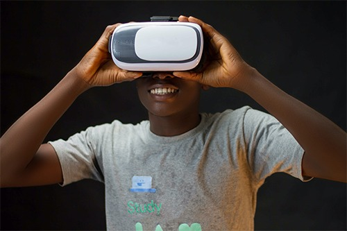 een virtual reality photobooth
