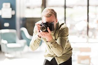 mobiele fotostudio fotograaf